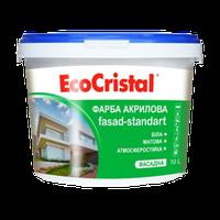 Краска фасадная акриловая EcoCristal Фасад ИР-131 3 л