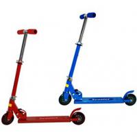 Самокат детский Scooter, самокат двухколесный (розовый,синий)