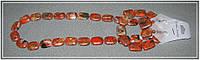 Красная яшма, гарнитур, бусы, браслет, серьги