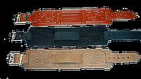 Ремешок 16 мм черный тисненый сплошной