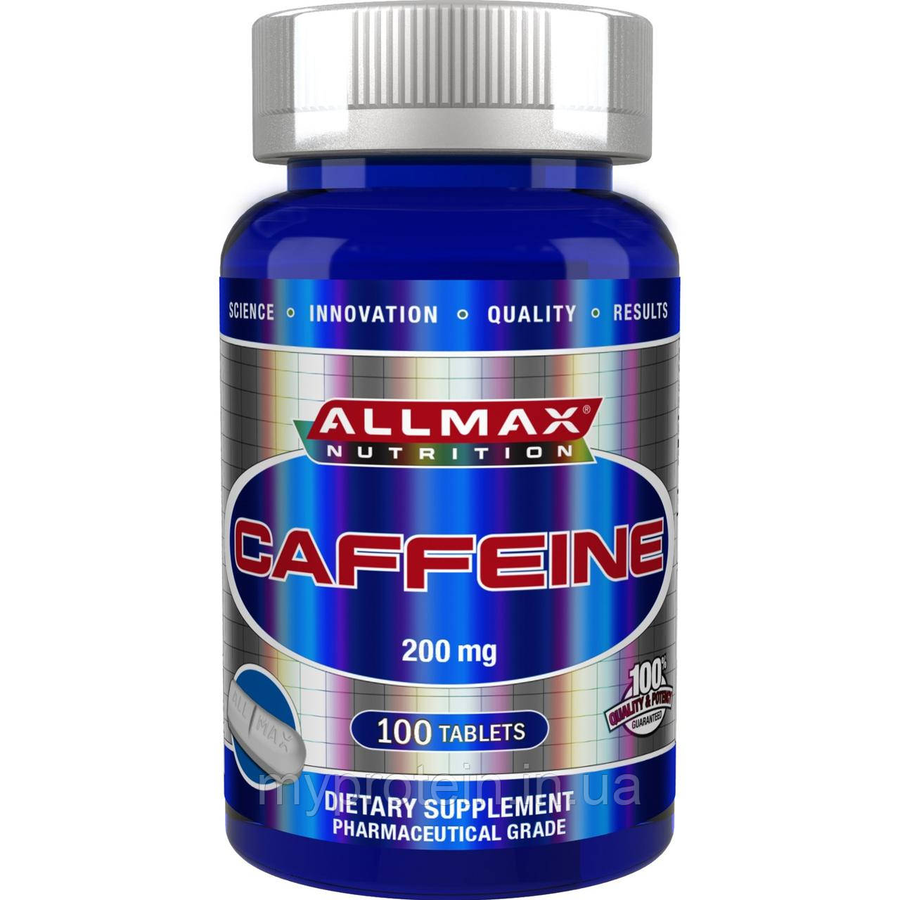All Max Nutrition Энергетики Caffeine 200 mg100 tab
