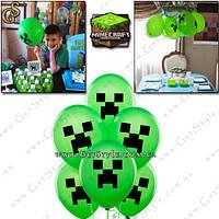 "Воздушные шарики Minecraft - ""Creeper Balloon"" - 1 шт."