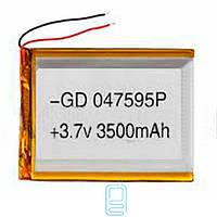 Аккумулятор GD 047595P 3500mAh Li-ion 3.7V