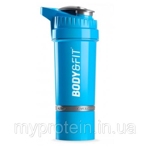 Body & Fit Шейкер синий Cyclone Shakebeker (650 ml blue)