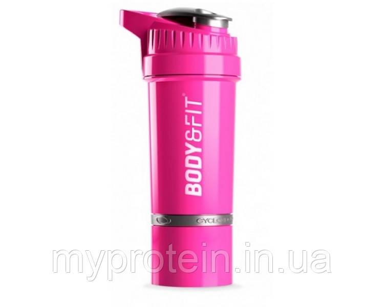 Body & Fit Шейкер женский розовый Cyclone Shakebeker (650 ml pink)