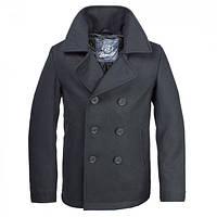 Бушлат Brandit Pea Coat BLACK