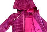 Демисезонная куртка - ветровка  для девочки NANO F17M1400 Mauve Rose. Размер 4-16лет., фото 4