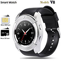 Смарт часы Smart Watch V8 с сим картой