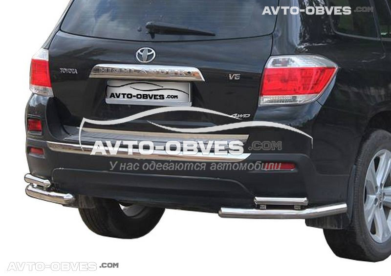 Углы двойные задние для Toyota Highlander (п.к. АК3)