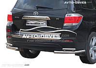 Углы двойные задние для Toyota Highlander от ИМ Автообвес (п.к. АК3)