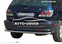 Защита заднего бампера Lexus RX от ИМ Автообвес (п.к. AK)