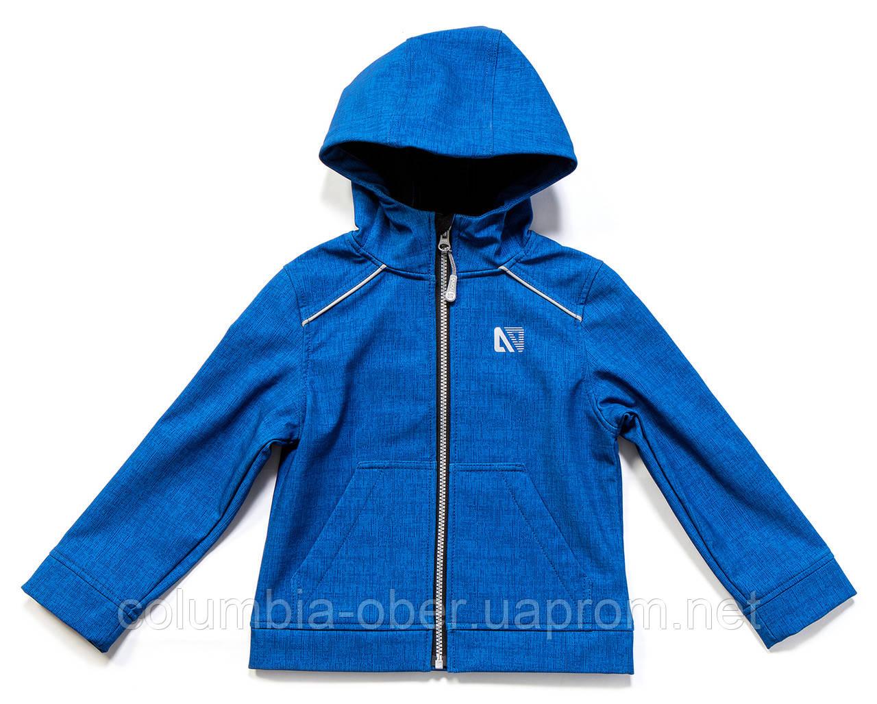 Демисезонная куртка для мальчика NANO F17M1401 Blue Jay Mix. Размеры 112 - 152.