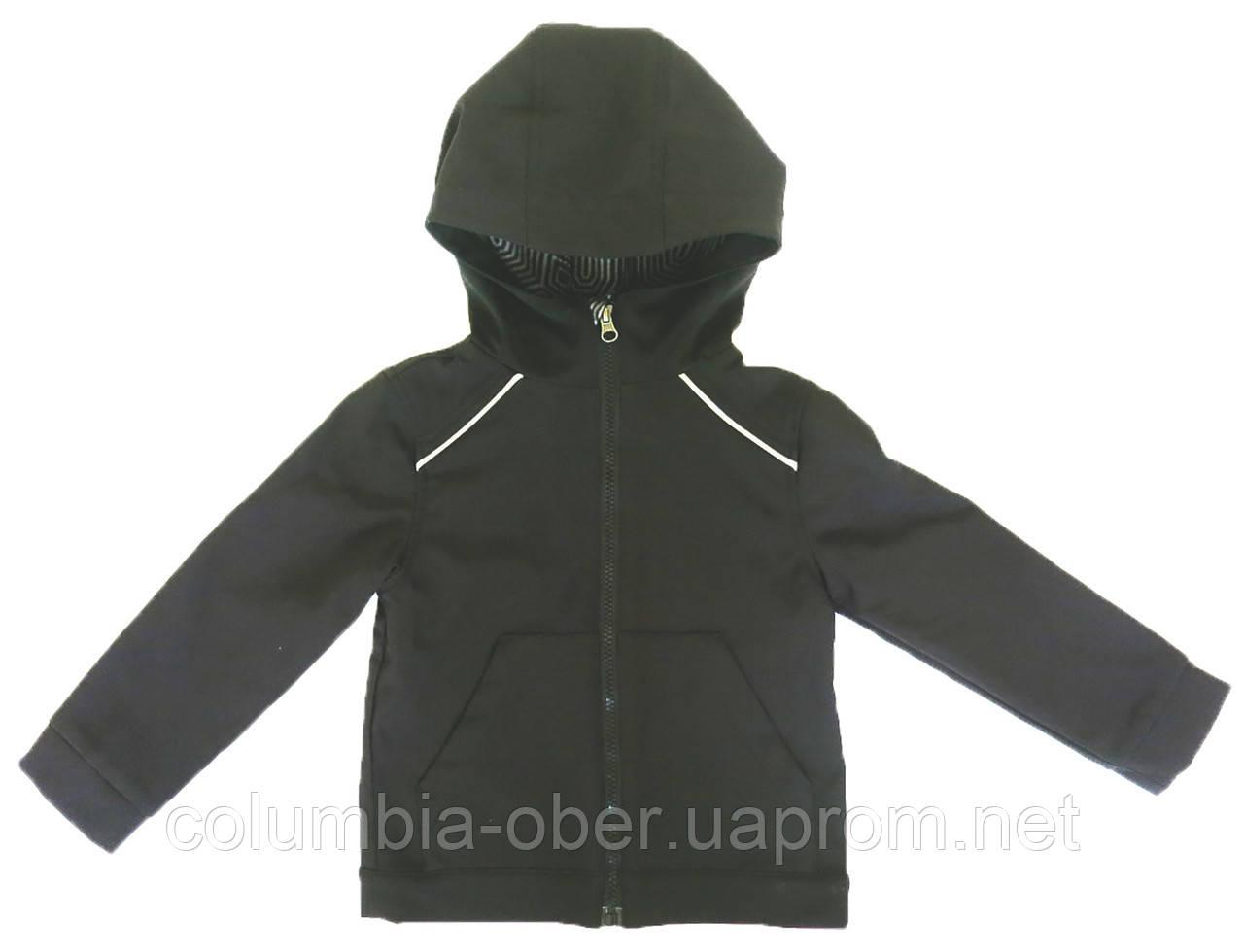 Демисезонная куртка для мальчика NANO F17 M 1400 Black. Размеры 104 - 152.