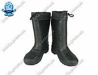 Мужские сапоги (Код: EVA-02 обшив черный)