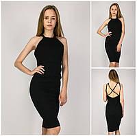 Женское Платье Boohoo состояние 5+ Черного  Цвета  S-M/42-44 р.