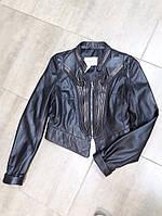 Короткая кожаная куртка от Ermanno Scervino