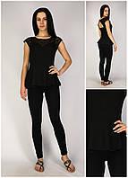 Новая Женская Блузка Gina Tricot Черного  Цвета |M/44-46|р.