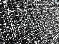 Сетка вольерная канилированная цинк. Ячейка:25х25, Проволока:3,0мм, Лист:1000х2000мм.