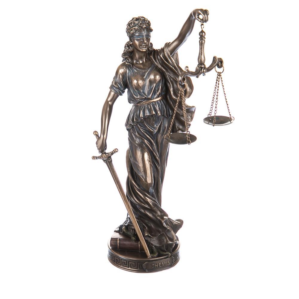 Богиня правосудия Фемида 26 см Veronese 76420A4