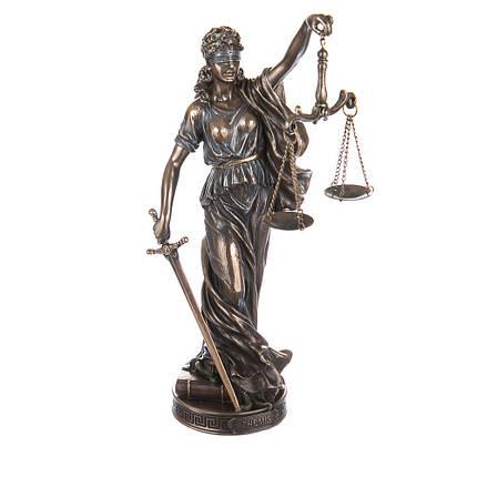 Богиня правосудия Фемида 26 см Veronese 76420A4, фото 2
