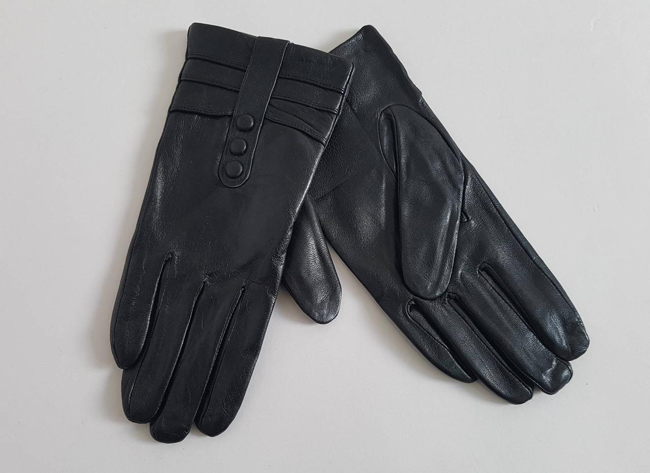 Женски перчатки  из натуральной кожи