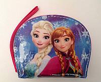 """Детский кошелек для девочки """"Холодное сердце Эльза,Принцессы"""" на молнии лаковый"""