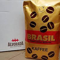 Кофе в зернах Alvorado Brasil Kaffee 1 кг.