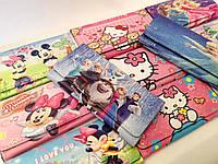 """Детский кошелек для девочки """"Холодное сердце Эльза,Микки Маусы,Китти,Принцессы"""" на магнитной кнопке"""