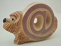 Копилка керамическая Собака@com.ua 17х11