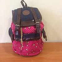 Подростковый городской рюкзак с принтом