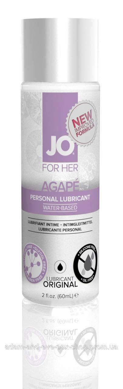 Женский гипоаллергенный лубрикант на водной основе System JO AGAPE - ORIGINAL 60 мл