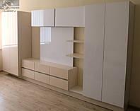 """Мебель для гостиной с панелью под телевизор """"Асти Лонг"""""""