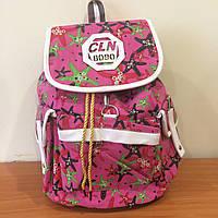 Городской рюкзак с принтом Морские звезды