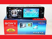 """Автомагнитола Sony 3027 3.6"""" VIDEO экран USB+SD+FM+AUX"""