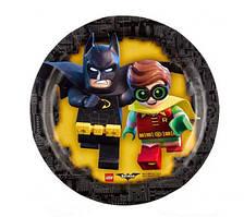 Тарілки паперові Лего Бетмен 18 см