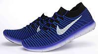 Мужские кроссовки Nike Free RN Motion Flyknit Blue/Black/White