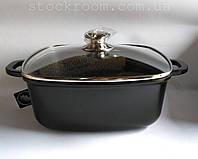 Кастрюля-сотейник Peterhof PH 15830-28 с гранитным покрытием , фото 1