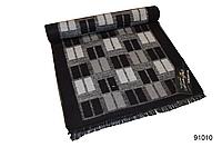 Серый мужской кашемировый шарф на осень, фото 1
