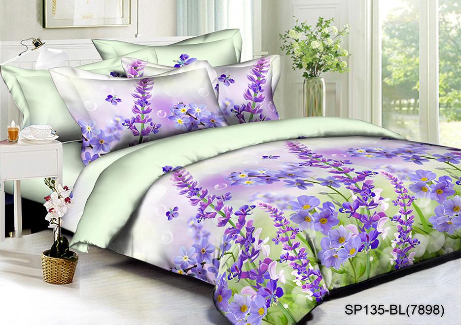 Полуторный комплект постельного белья Виолетта