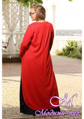 Женский батальный костюм с длинной юбкой (р. 48-90) арт. Алеана, фото 2