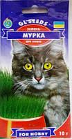 Зелень для котів Мурка 10г  (GLseeds)