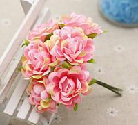 """Букет роз """"Аве Мария"""" 3,5 см, розовый"""