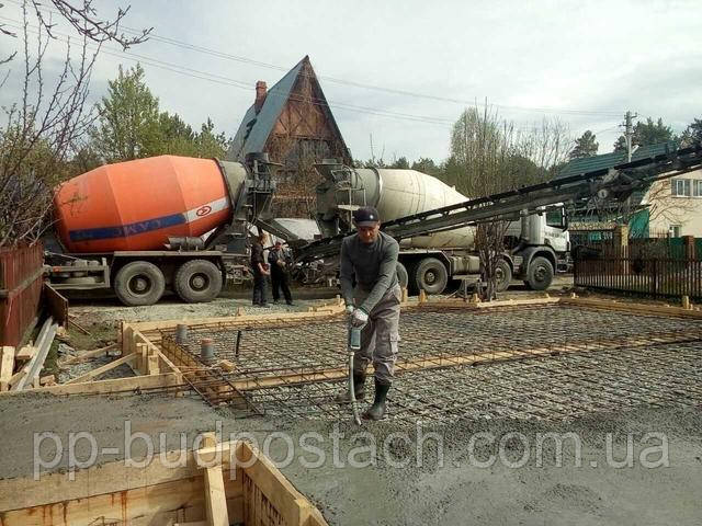 Распространение колебании в бетонной смеси