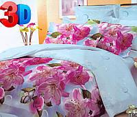 Двуспальное постельное белье 3D Арт. Бабочка