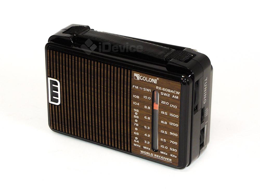 Радиоприёмник Golon RX-608ACW 220V