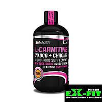 Л карнитин BioTech L-carnitine 70000 + Хром 500 ml