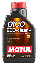Масла моторные 8100 ECO-CLEAN+ 5W-30