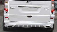 АМГ(AMG) накладка на задний бампер Мерседес Вито 639