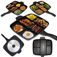 Гриль сковорода 5 секций Magic Pan