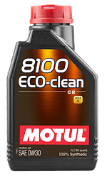 Масла моторные 8100 ECO-CLEAN 0W-30